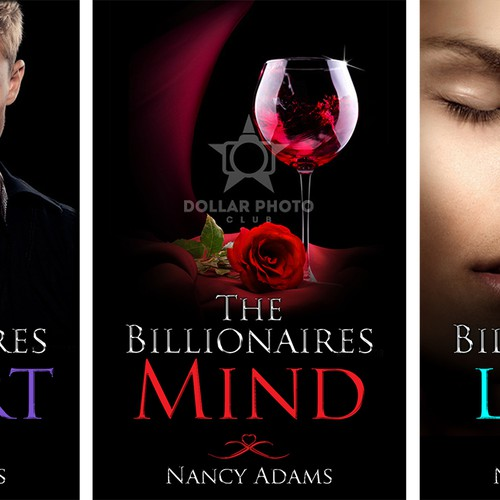 Create Appealing Romance Cover for New Billionaire Romance Trilogy! Design by PinaBee
