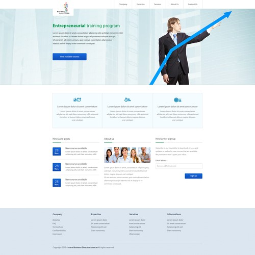 Runner-up design by Interfuse