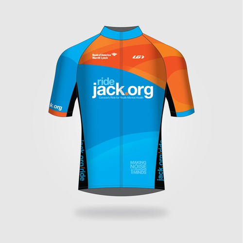 Cycle Shirt Design   Design Cycling Jerseys For Over 900 Riders At The 2017 Jack Ride
