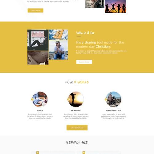 Runner-up design by artisan™