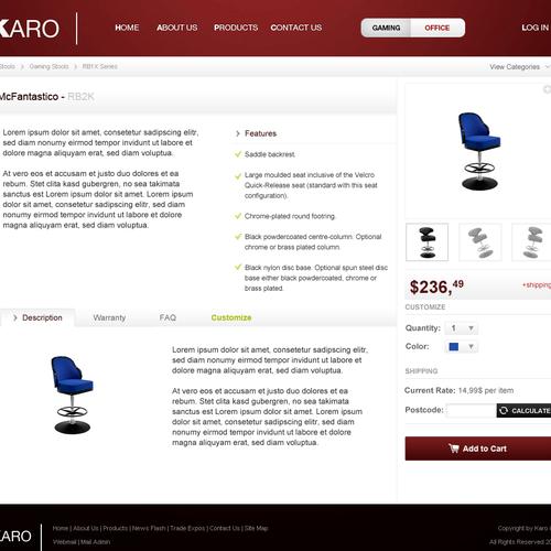 Design finalista por Qoalu