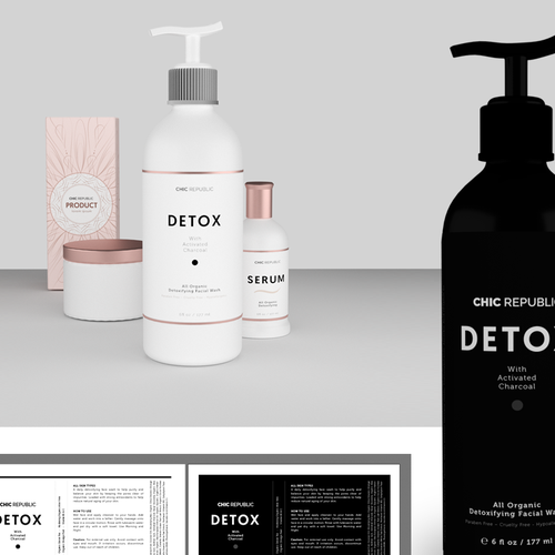 Cool Edgy Label for Face Wash Ontwerp door Clemens78