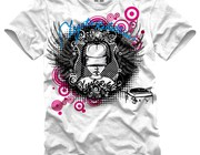 T-shirt design by kamak