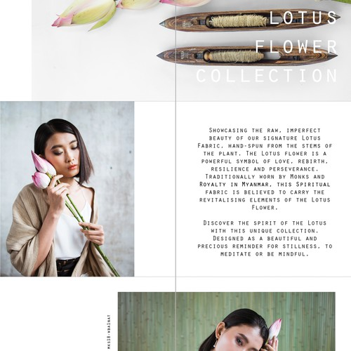 Diseño finalista de Kamila Fraser
