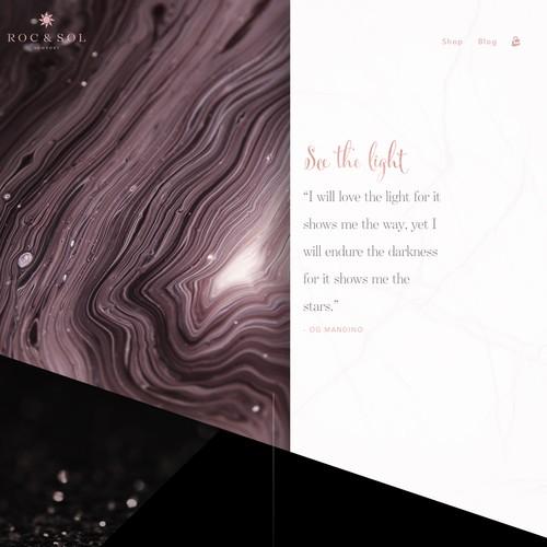 Diseño finalista de Shutter & Code