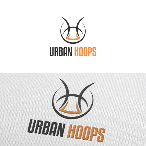 urban clothing logolabel for basketball wear logo
