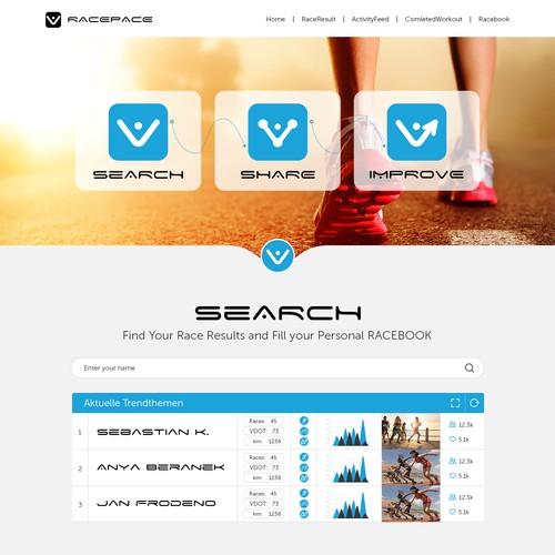 Runner-up design by Technology Wisdom