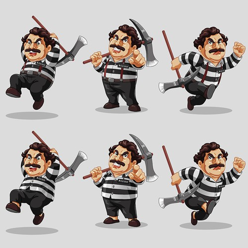 Create a capturing game character! Design by Roni Saptoni