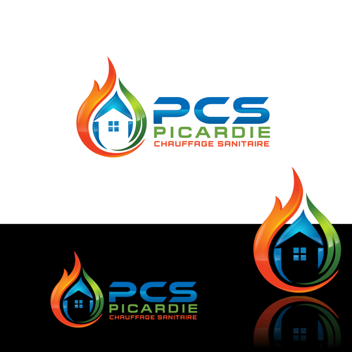 House equipment (Heat & plumbing equipment) company looking for an AWESOME logo :D ! Design by YZ24
