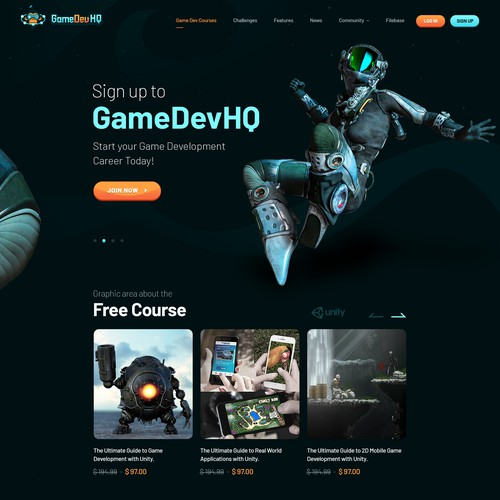 Complete Website Design for Video Game Training Company