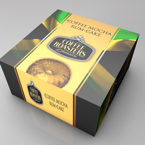 Create 2 Awesome Jamaican Cake Box Designs Product Packaging Contest