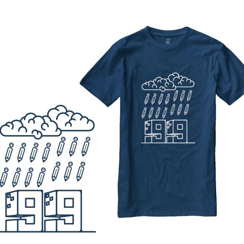 Create 99designs' Next Iconic Community T-shirt Design by cissy ( Qilart )