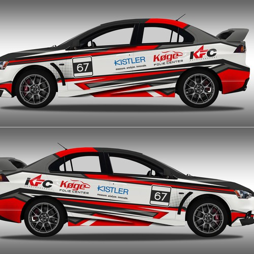 New Rally Car Design Car Truck Or Van Wrap Contest