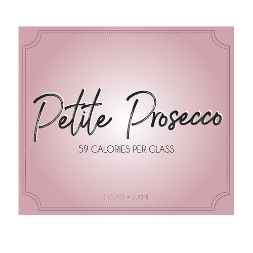 Low Calorie Prosecco Design by CathyD