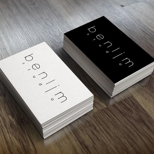 Create a logo for award winning singaporean photographer for Award winning business card designs