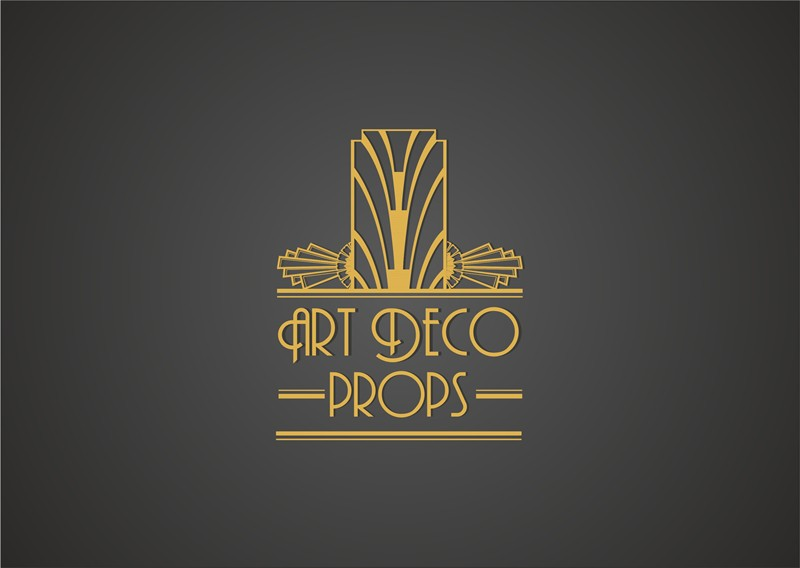 Art deco wedding prop logo logo design contest for Home decor logo 99design