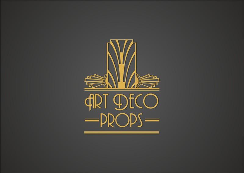 Logo Design Contest Art Deco Wedding Prop Logo