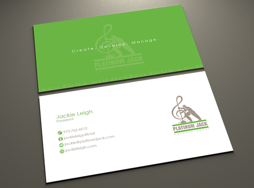 Landscaping business card design in Dallas