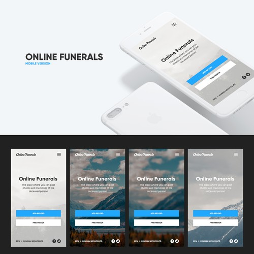 Runner-up design by ui_design