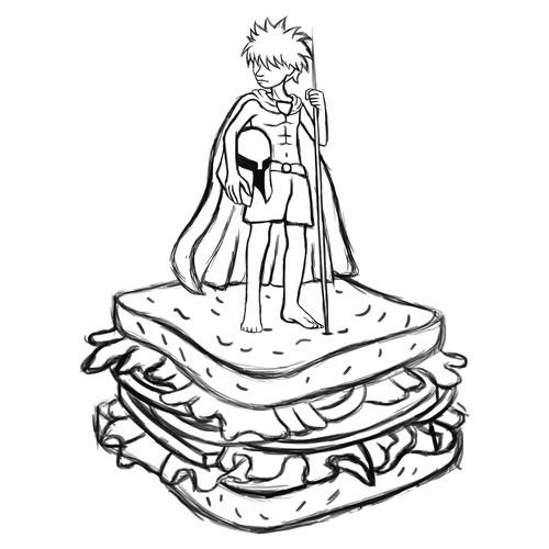 "Runner-up design by Ovidius"""
