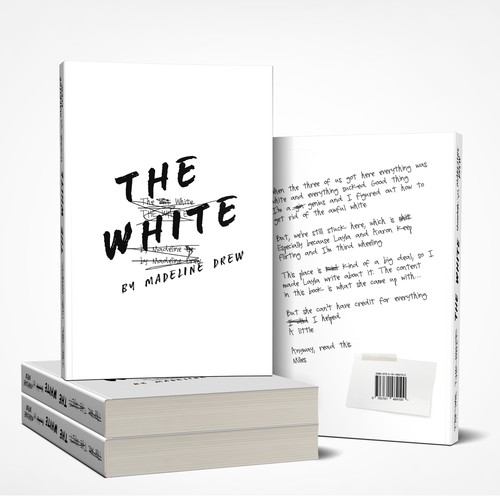 Design a minimal fiction cover that has a pop of colour and a sneak of humour! Ontwerp door joselopez