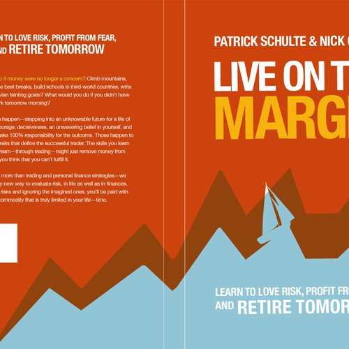 Book or magazine cover for live on the margin book cover contest runner up design by marage solutioingenieria