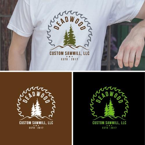 Deadwood Custom Sawmill needs a logo | Logo design contest
