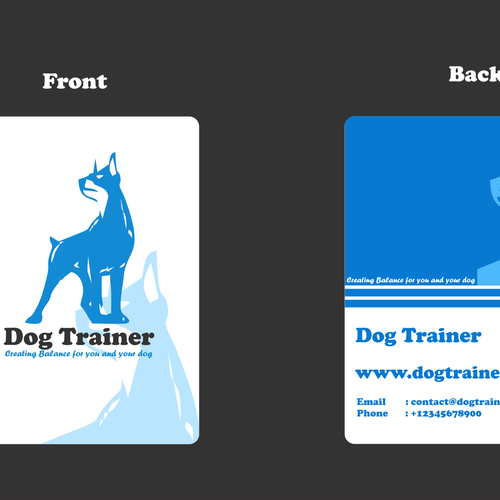 Scent Tracking Dog Training