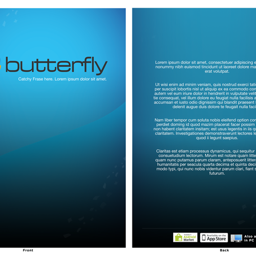 Runner-up design by Andres Valerio