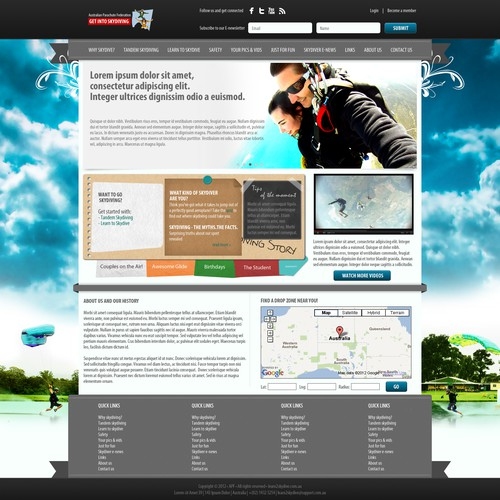 Meilleur design de Delegate2Win.org