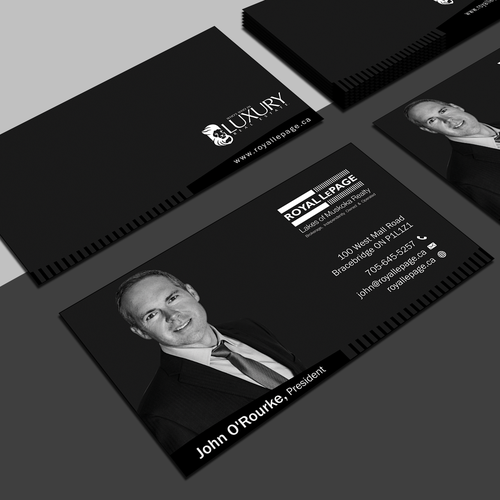 Guaranteed contest sophisticated business card business card runner up design by vincent tesoro colourmoves