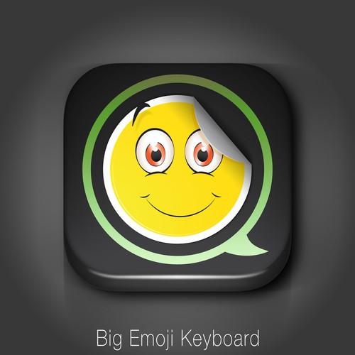 App Icon For Big Emoji Keyboard Blind Amp Guaranteed