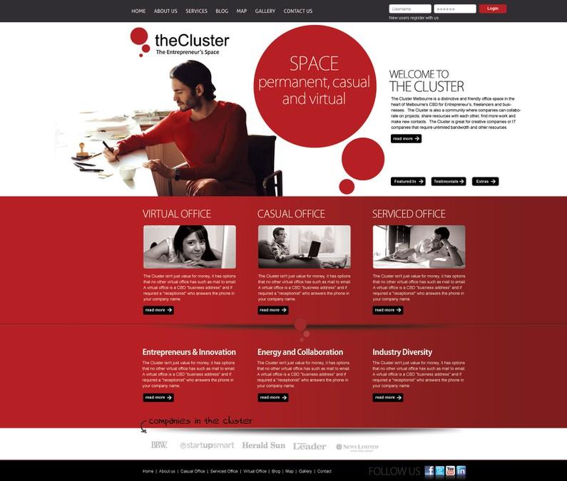 Diseño ganador de CSS Graphix