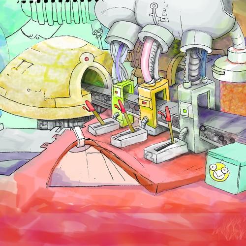 Runner-up design by Art.as.a.Tool