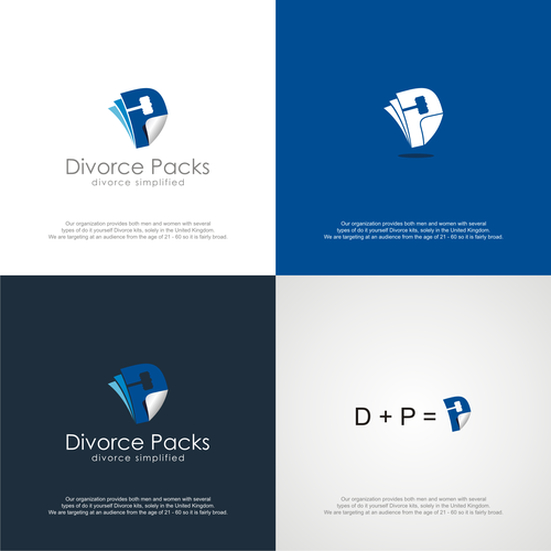 Divorce Logo  - UPDATED BRIEF, Ideally hand/computer drawn / Original Logo - Blind Filter Enabled Ontwerp door okdesignstudio