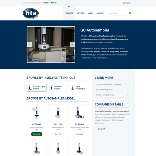 GUARANTEED - New website for HTA | Web page design contest