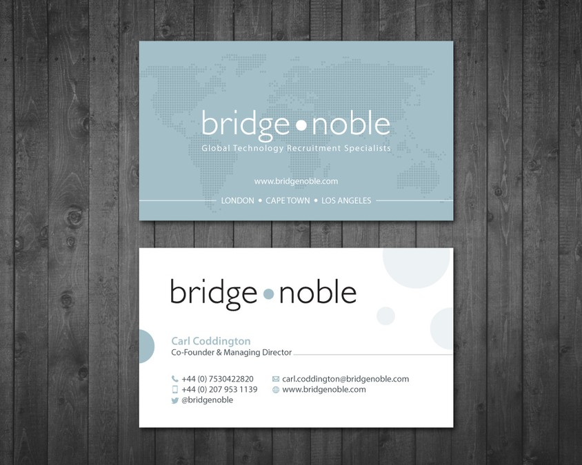 Global Business Card Design | Business card contest