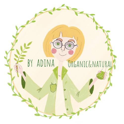 By-Adina needs an outstanding organic looking logo | Logo