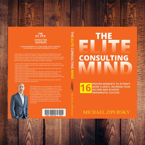 Creative Book Cover Up : Design a creative book cover on success mindset