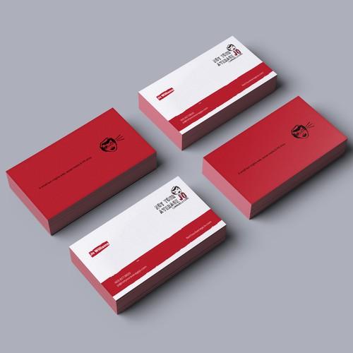 Create a cheeky, fun business card Design by Advero