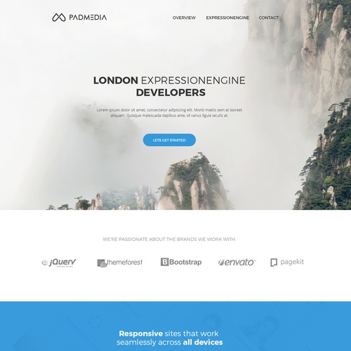 Runner-up design by yakuthemes