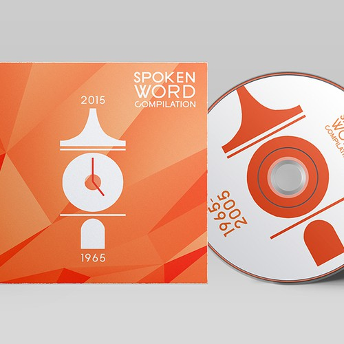Spoken Word Compilation CD Artwork Design by Aubergine Designs
