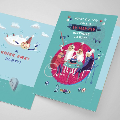 Greeting card design for hahaha cards card or invitation contest runner up design by eugelida m4hsunfo