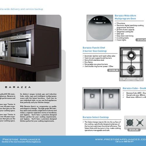 Brochure Design For Prestige Appliances Brochure Contest