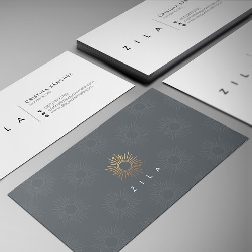 Business card for handmade jewelry brand inspired in mayan for Handmade jewelry business cards