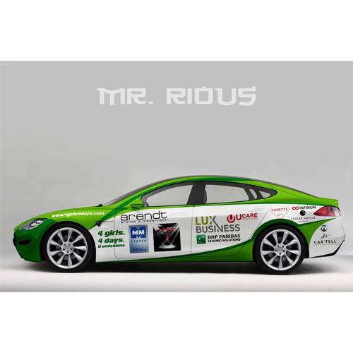 Design finalisti di Mr. Rious