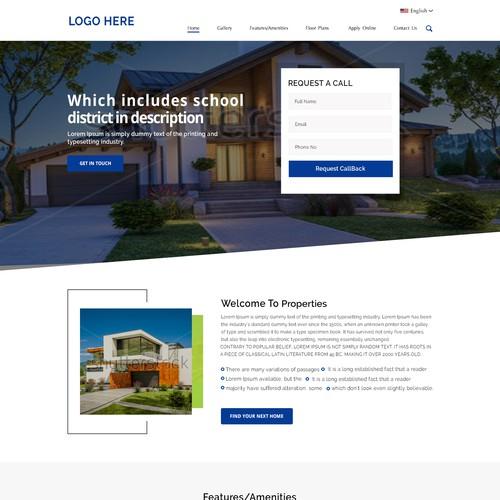 Zweitplatziertes Design von WebDecent