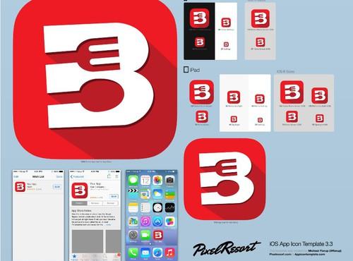 icon or button design in  - 6