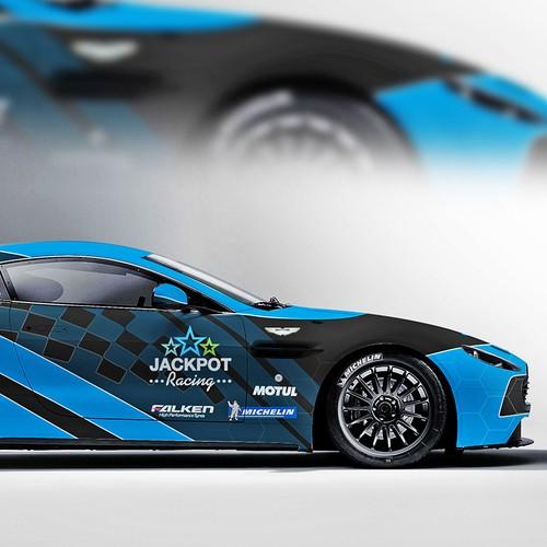 Aston Martin Race Car Design Wettbewerb In Der Kategorie Auto Lkw Transporter 99designs