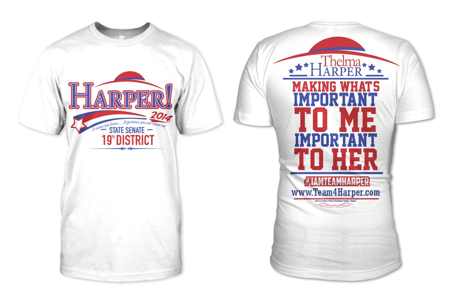 19f1948c Design a Modern Political Campaign T-Shirt Design - Will Select ...